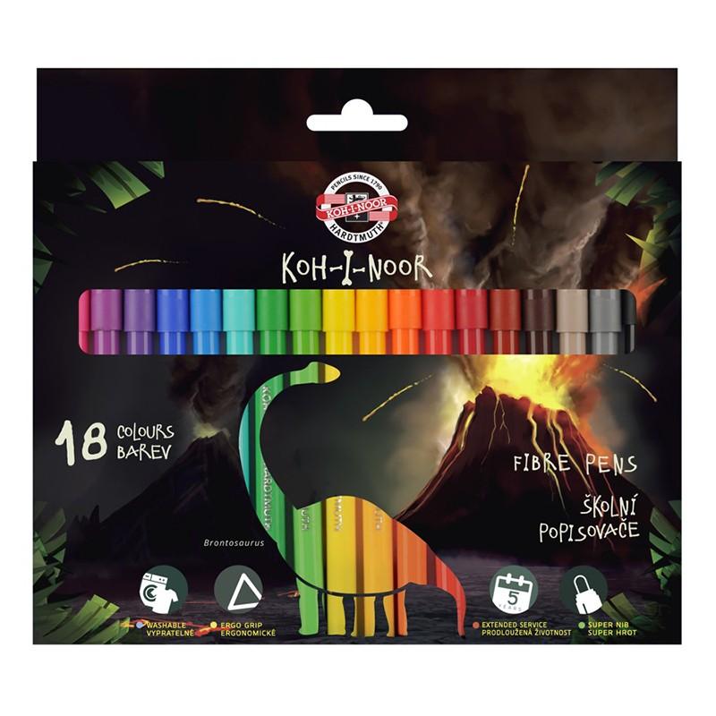 KIN FLAMASTRY DINO 7710/2AH...