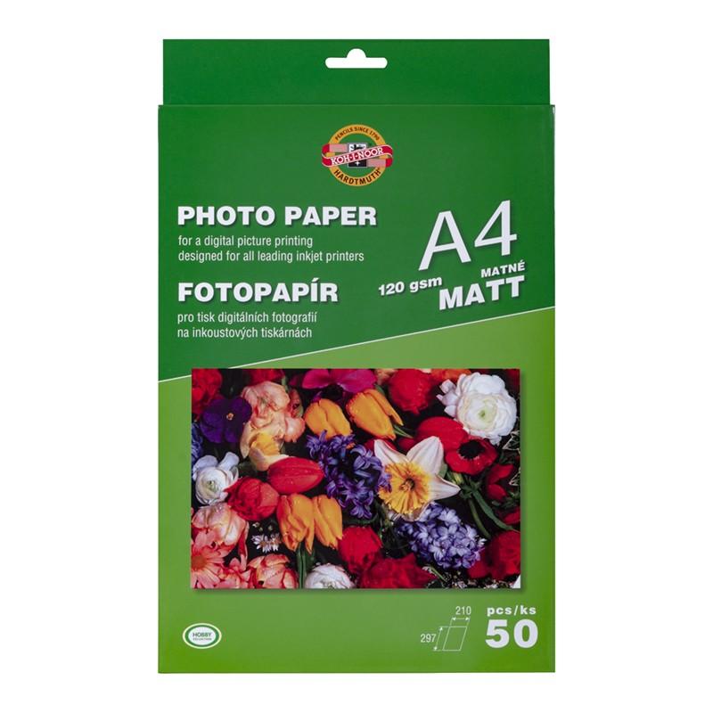 KIN PAPIER FOTO A4 50 ARK....